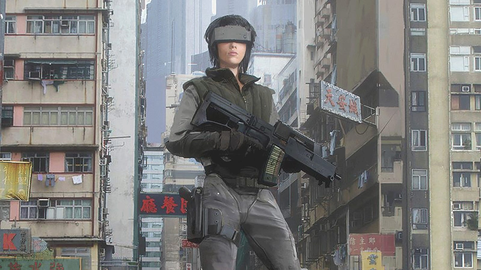 The Incredible Art Of The Ghost In The Shell Movie