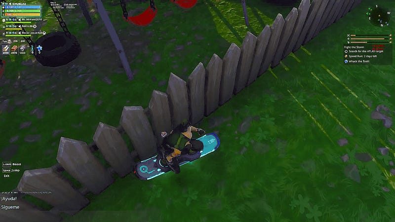 Fortnite How To Get Hover Bored The New Driftboard Is Breaking Fortnite Save The World Update