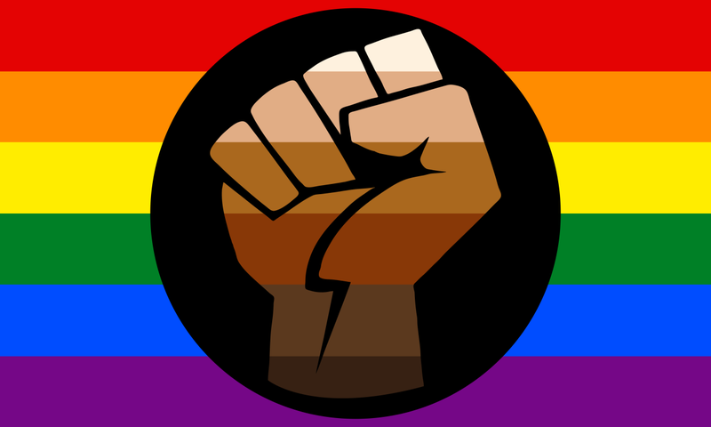 If Youre Mad About The Black And Brown Stripes Added To The Rainbow