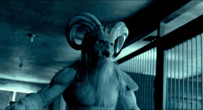 Christmas Horror Story Krampus.A Christmas Horror Story S Krampus Was Too Hot To Be Scary