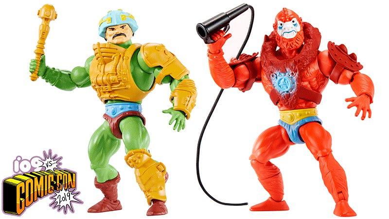 ORIGINALE ANNI/'80 MATTEL He-Man MOTU Masters of the Universe Leech Figura