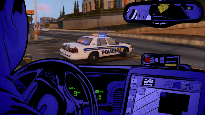 how to become a cop in gta v