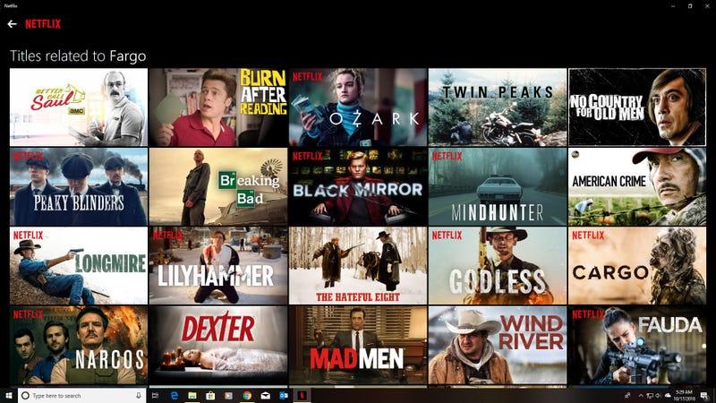 Season 3 of Fargo is on Netflix