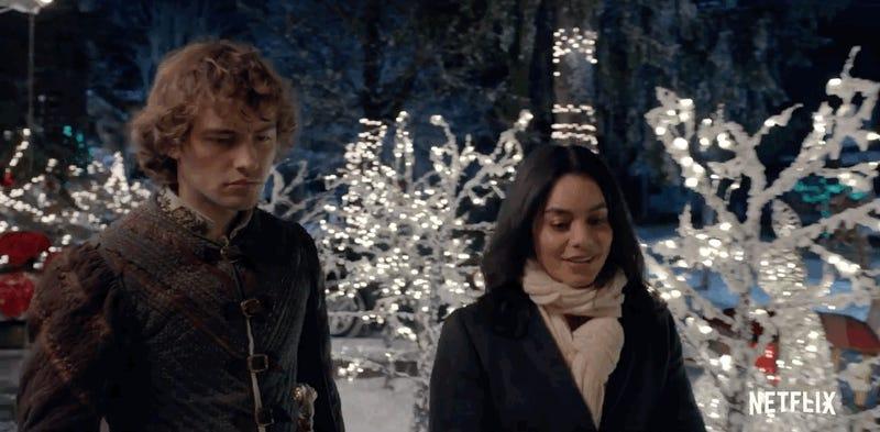 Netflix's Knight Before Christmas Looks