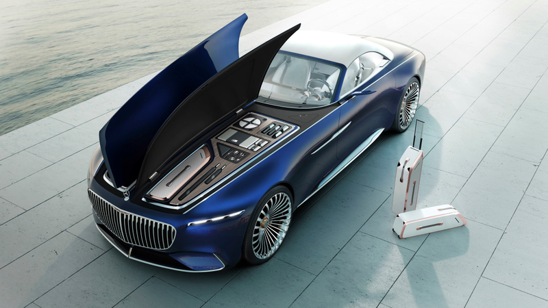 The Vision Mercedes-Maybach 6 Cabriolet Should Raise Property Values ...