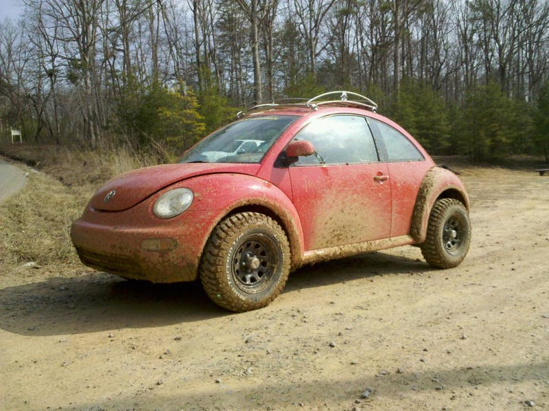 I Drove The New Volkswagen Baja Bug