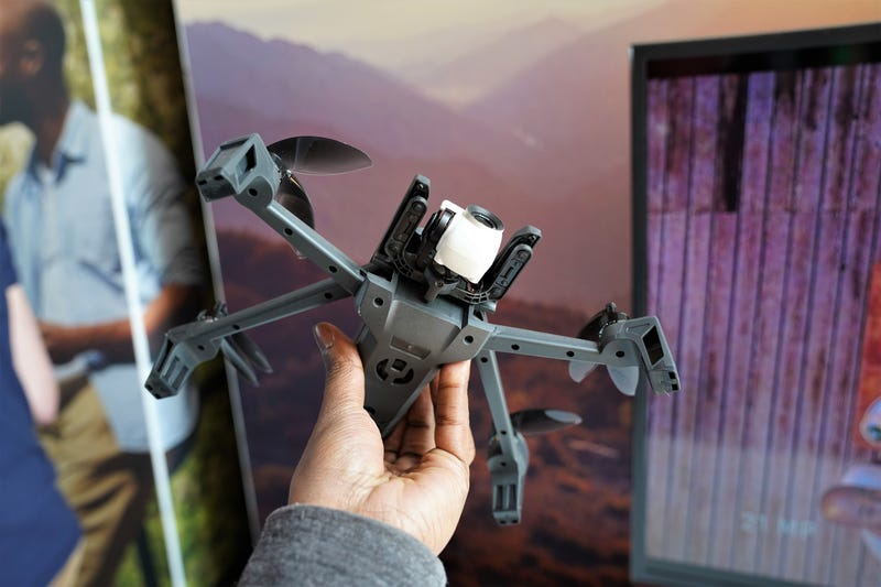 Parrot's New Foldable Drone Can Nail Some Crazy Shooting
