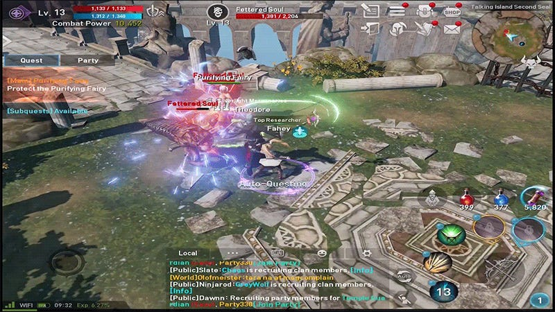 Lineage 2: Revolution Pretty Much Plays Itself