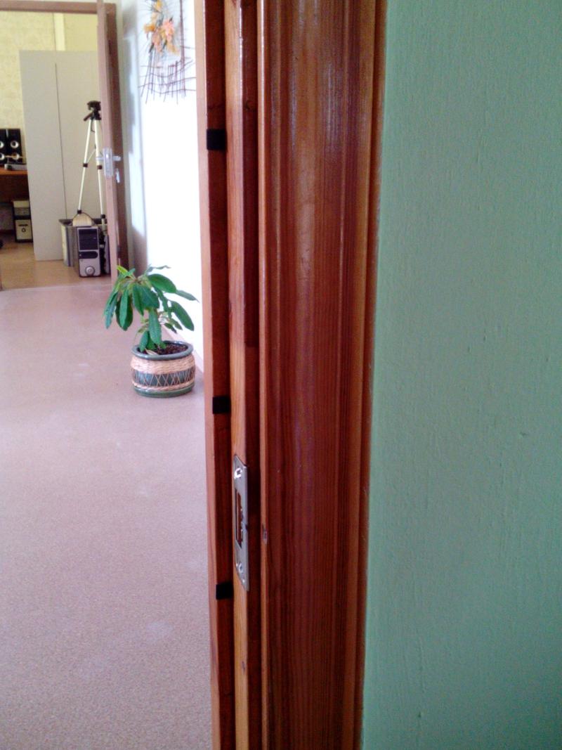 Quiet Slamming Doors With Felt Pads