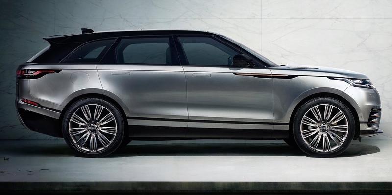 The 2018 Range Rover Velar Actually Looks Pretty Rad