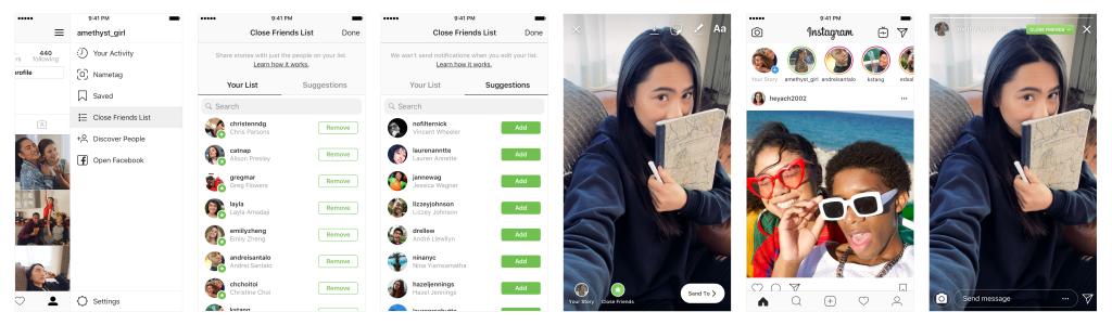 Cara Tampilkan Stories Instagram untuk Orang Tertentu Saja