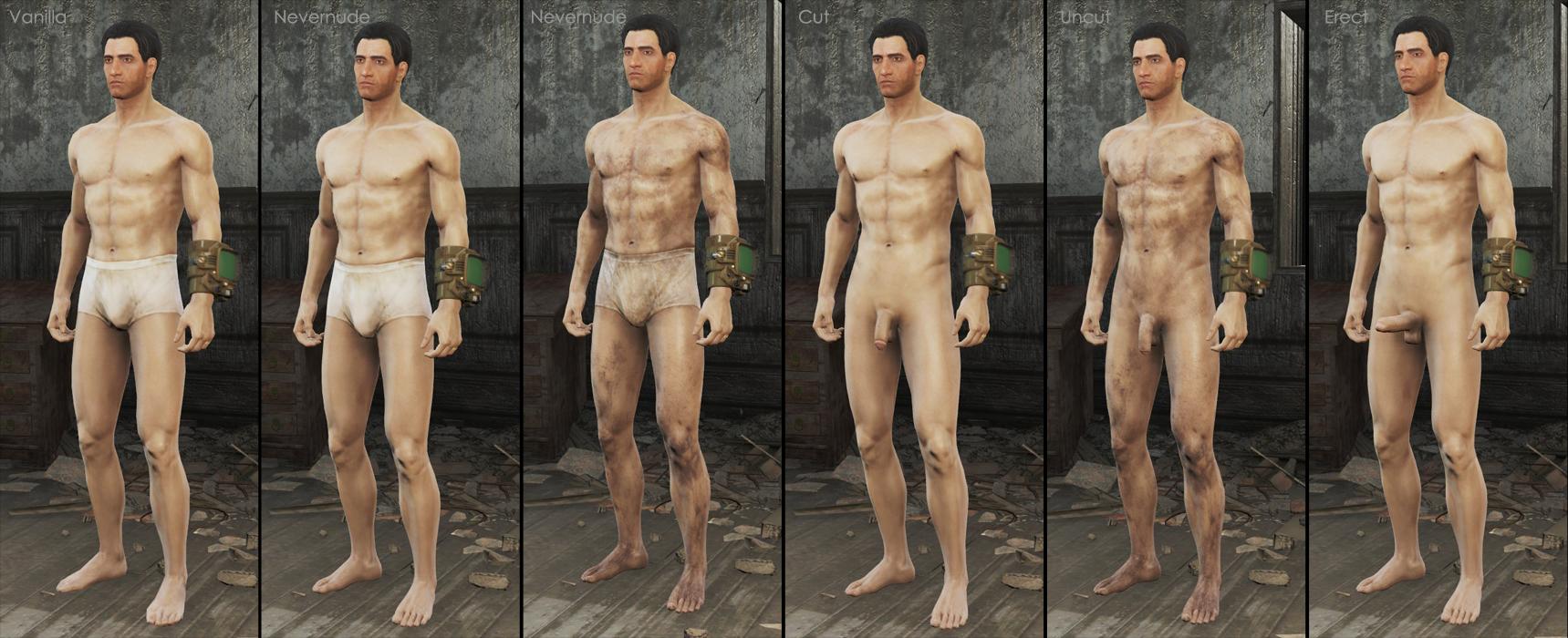 Oblivion Male Nude 9