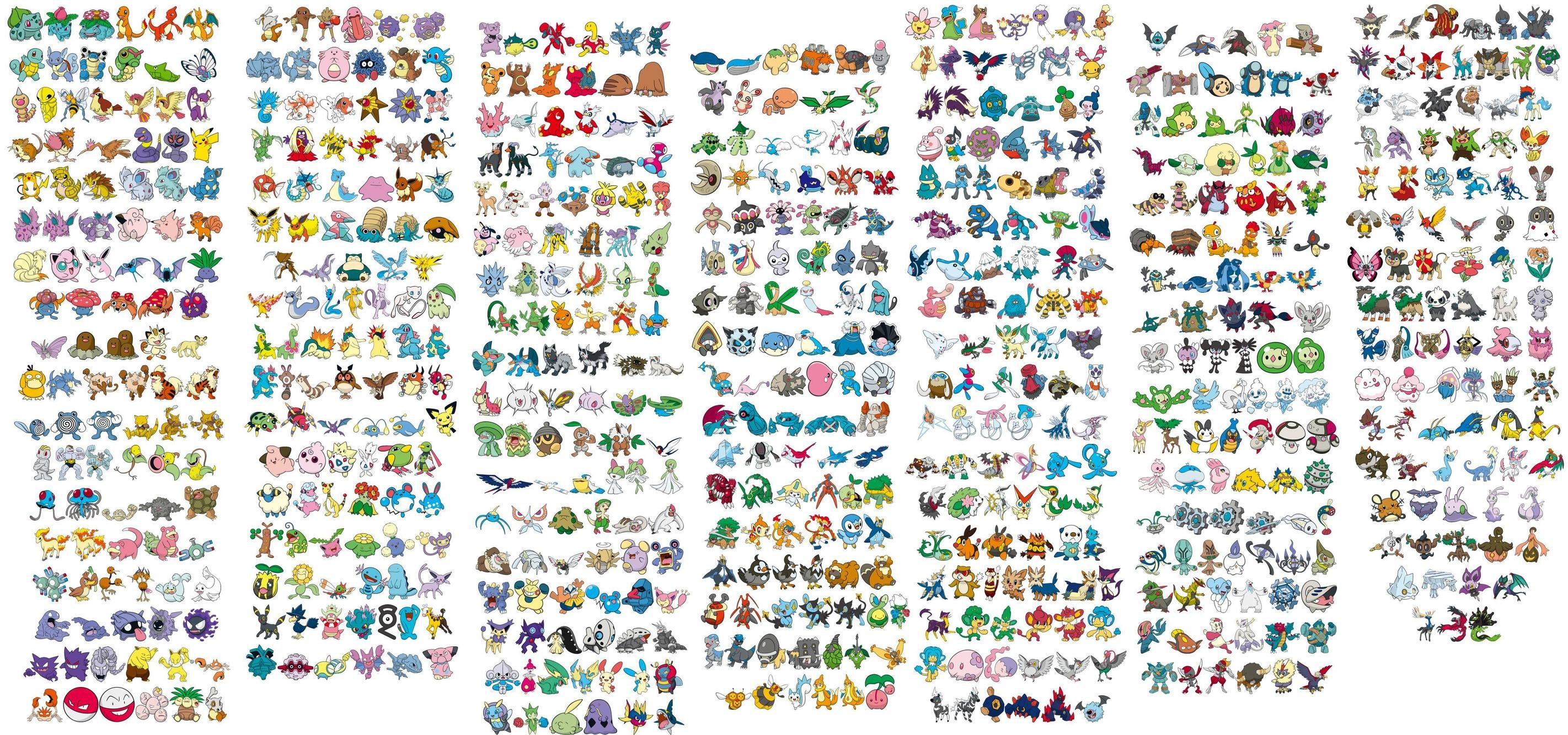 Image result for all pokemon