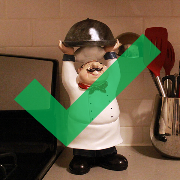 Superbe Results For Is Your Kitchen Finally Ready For A Fat Little Chef Statue?