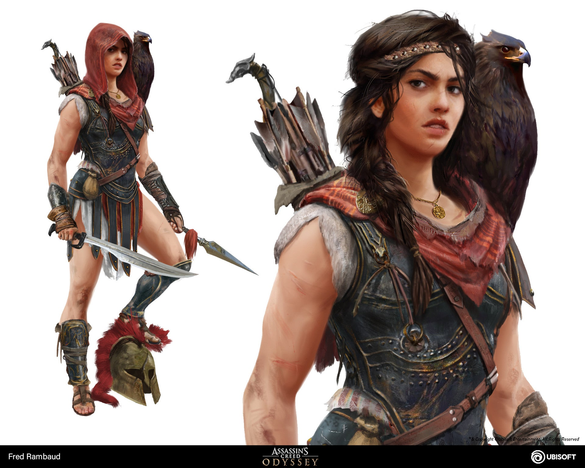 The Art Of Assassin S Creed Odyssey Kotaku Uk