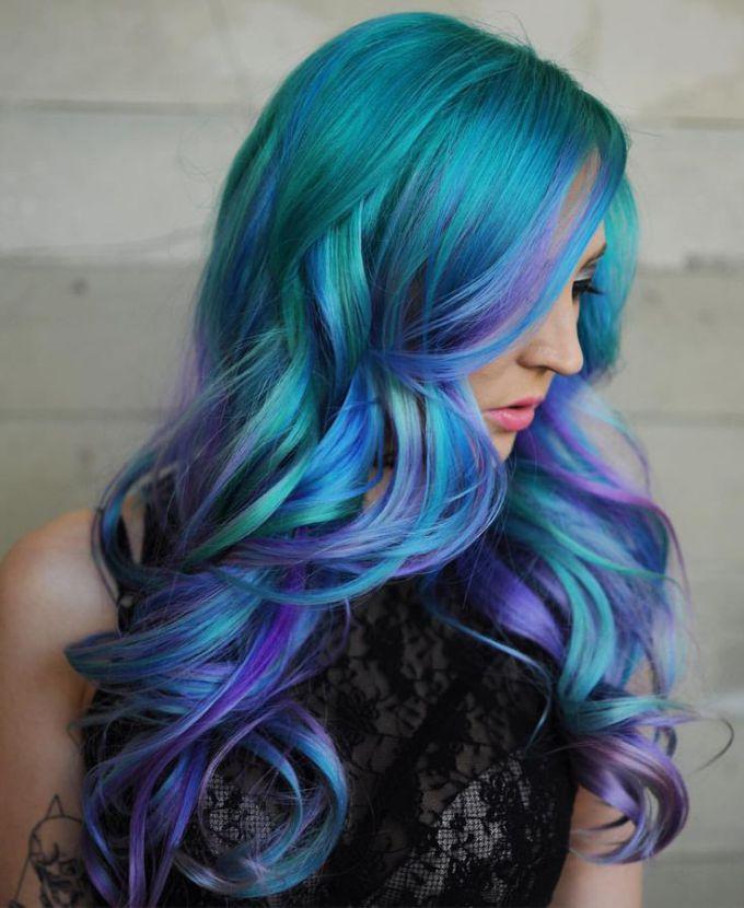 Galaxy Hair Ideas That Will Amazing You