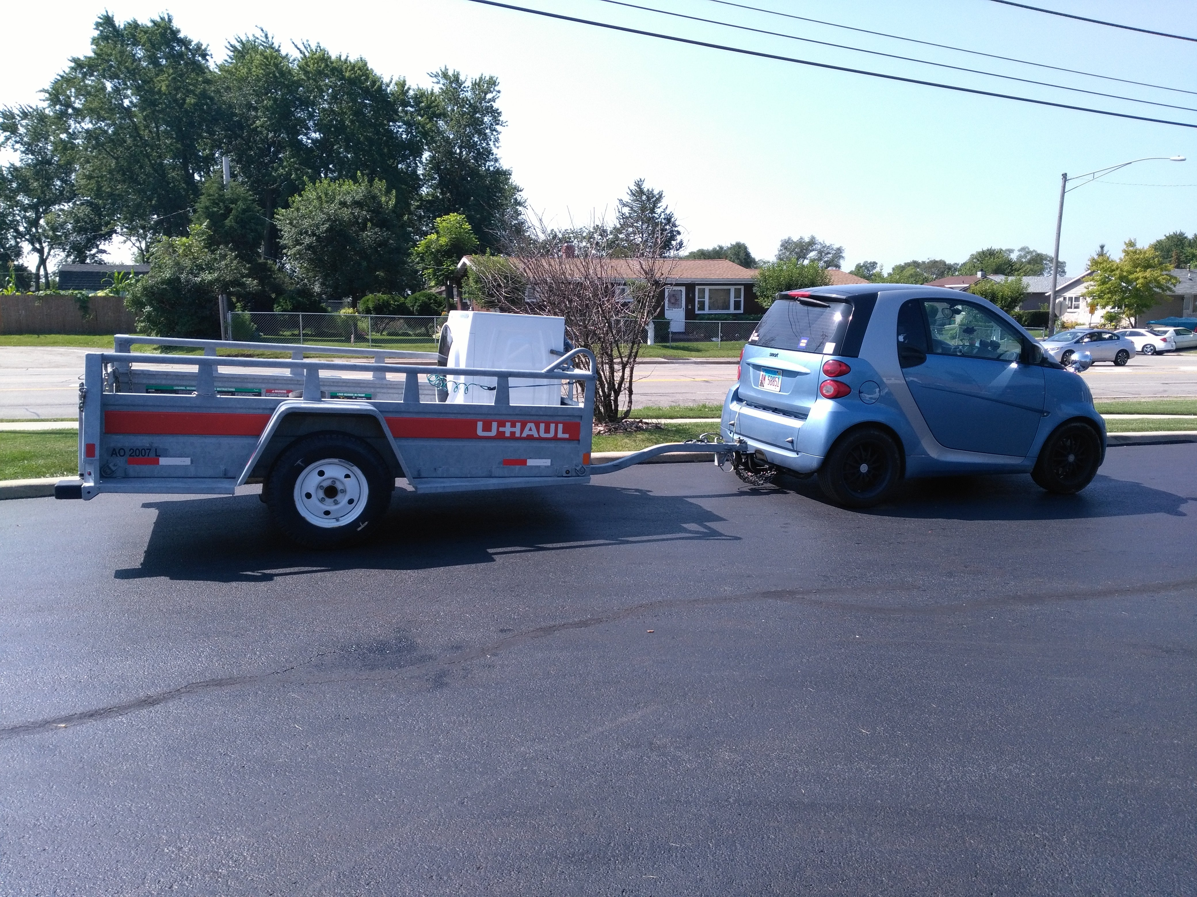 How much can a smart tow? | Smart Car of America Forum