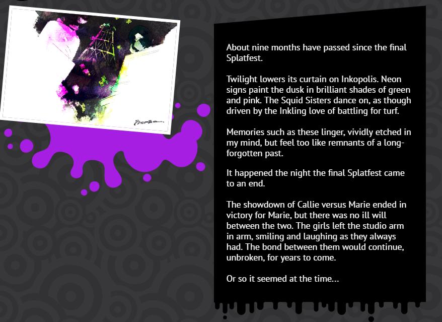 the last splatfest actually influenced splatoon 2 s story kotaku uk