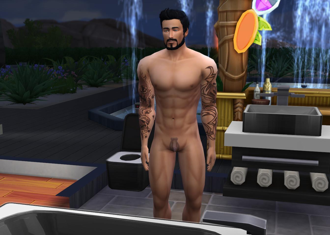 Porn sims super nude