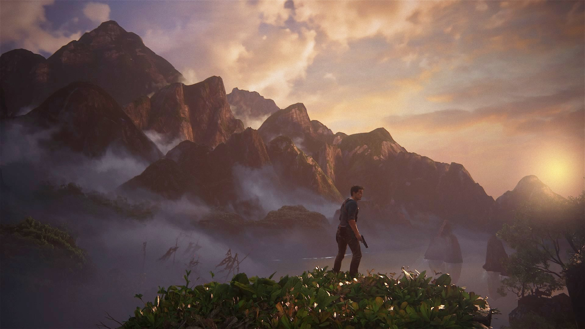 Ray Soemarsono nathan drake from uncharted 4 screenshot