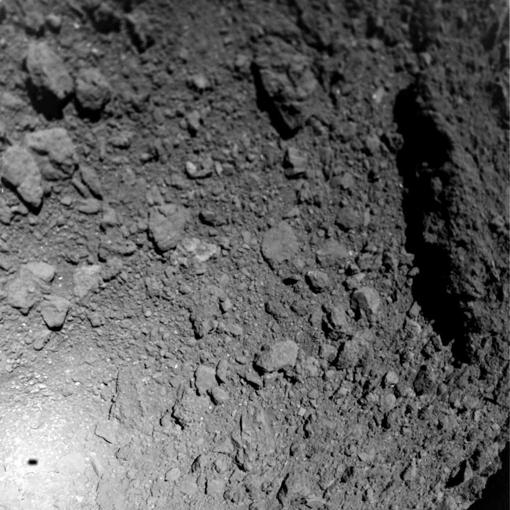 Images Of The Ryugu Asteroid May Offer Clues About Planet Formation