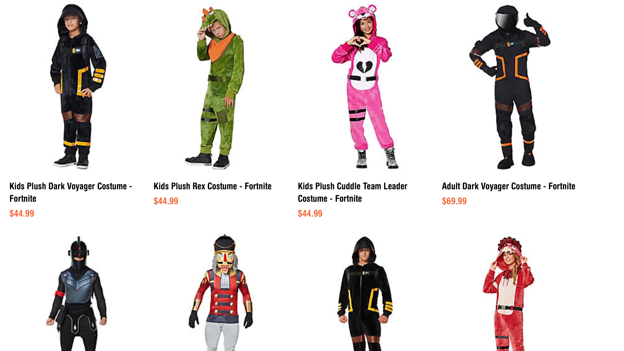 Spirit Halloween Fortnite Costumes For Kids.The Best Places To Buy Halloween Costumes Online That Don T