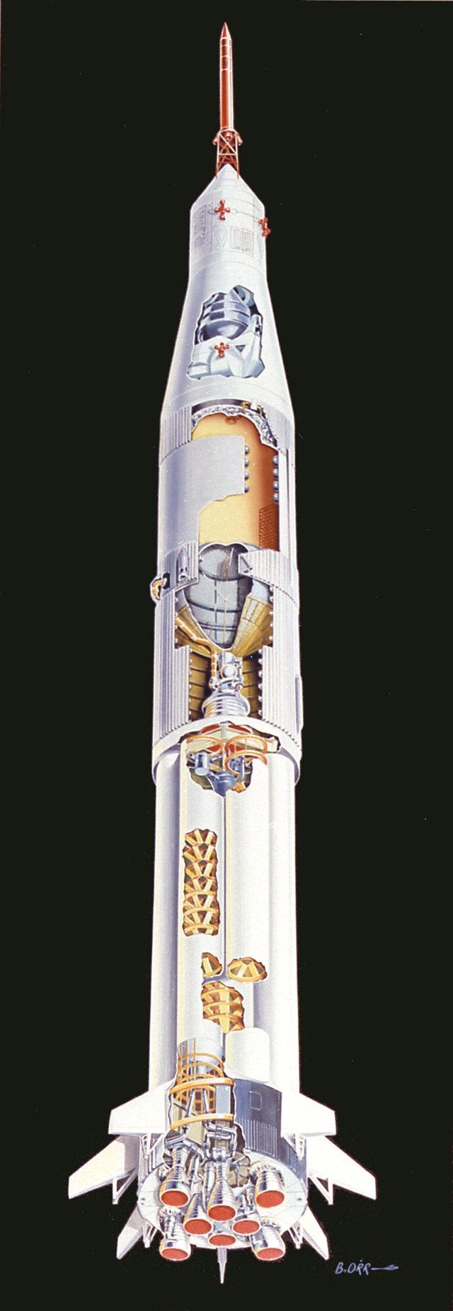 apollo spacecraft cutaway - photo #23