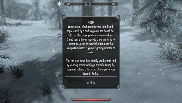 Skyrim Special Edition получит режим выживания