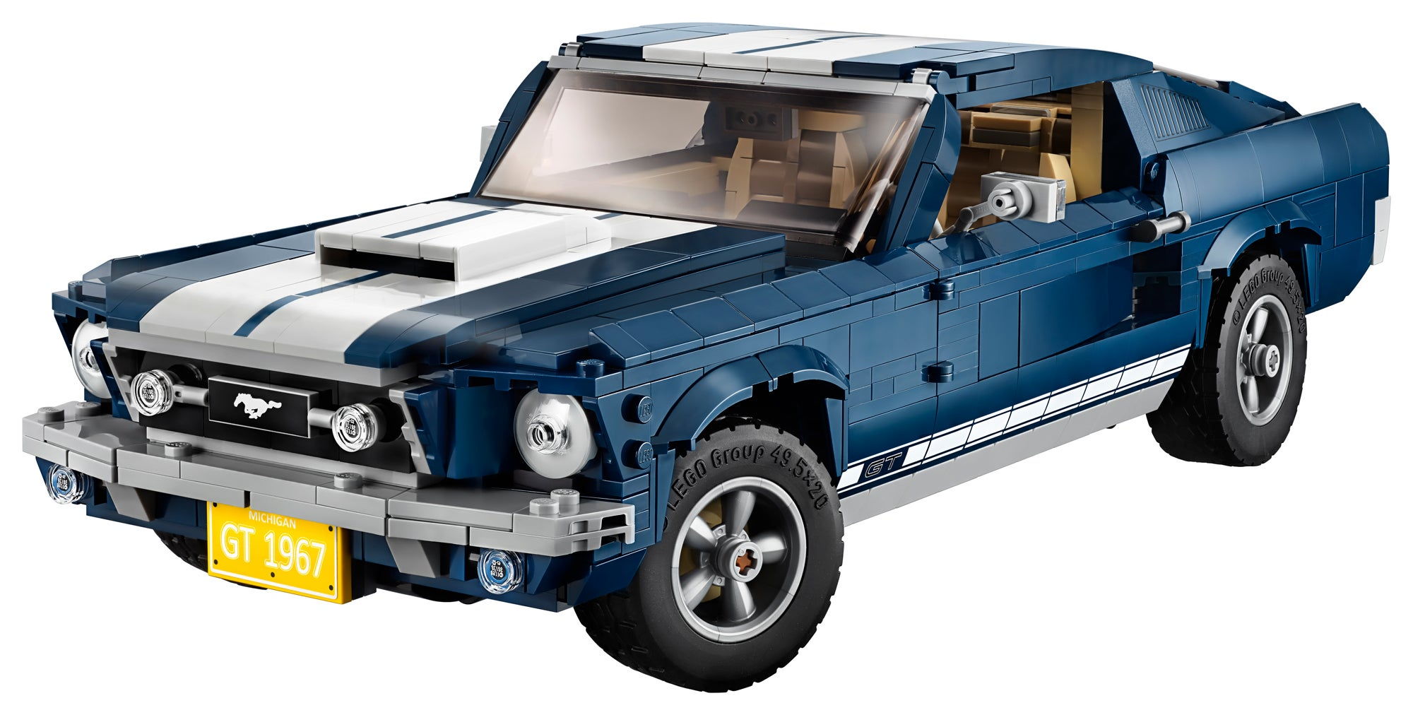 Case in point legos new creator expert series 1960s era ford mustang model which does a remarkably good job at recreating the curves of a now iconic