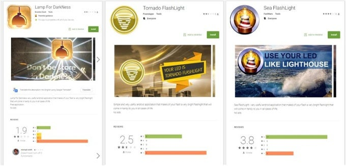 Flashlight Apps Snuck Malware Into Google's Play Store