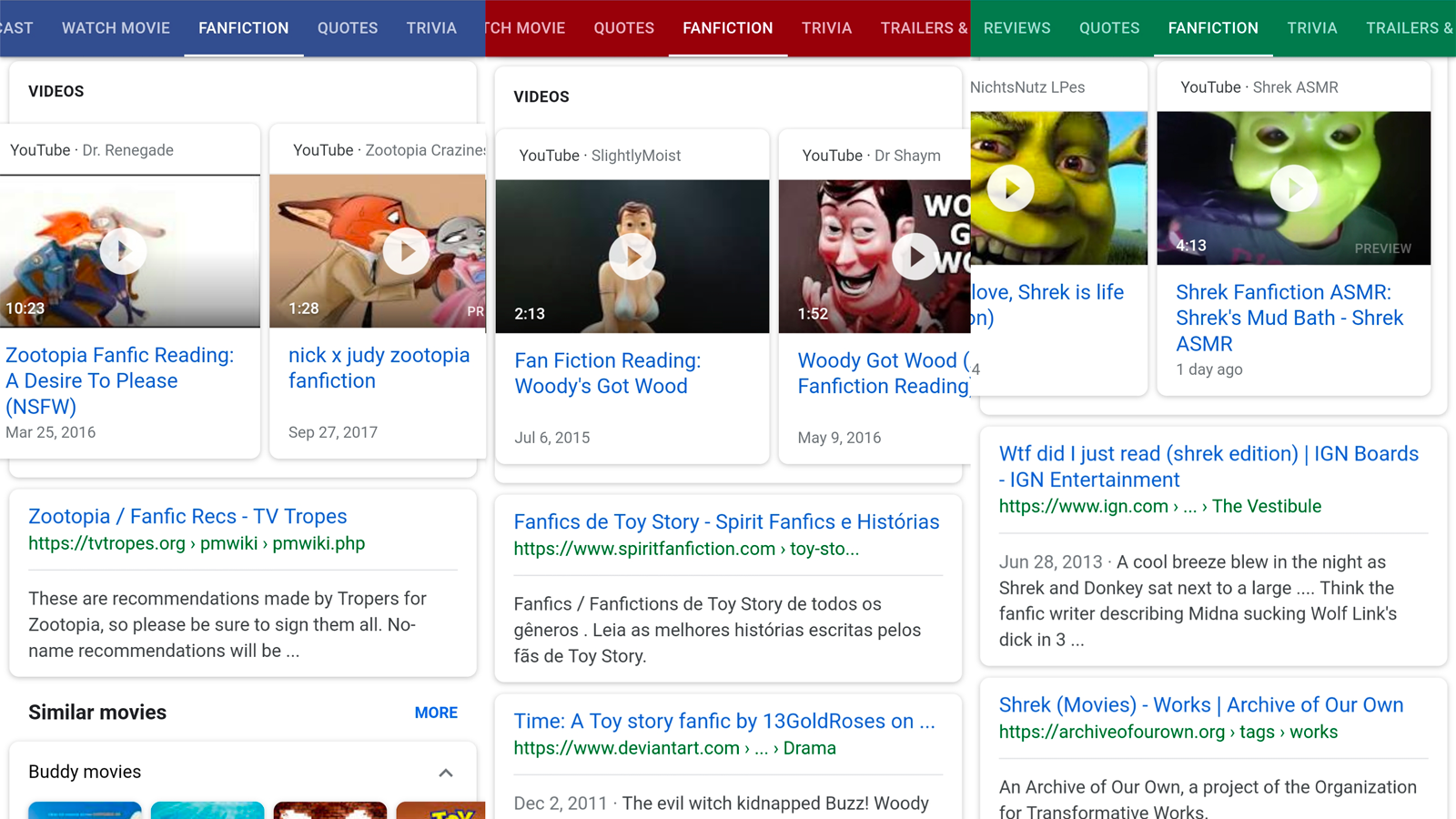 Google Pulls Search Tab That Suggested Grinch and Minions Porn