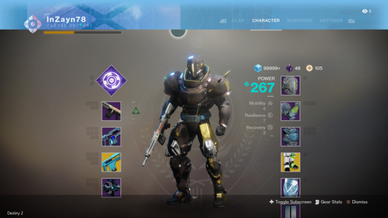 Destiny Titan Build