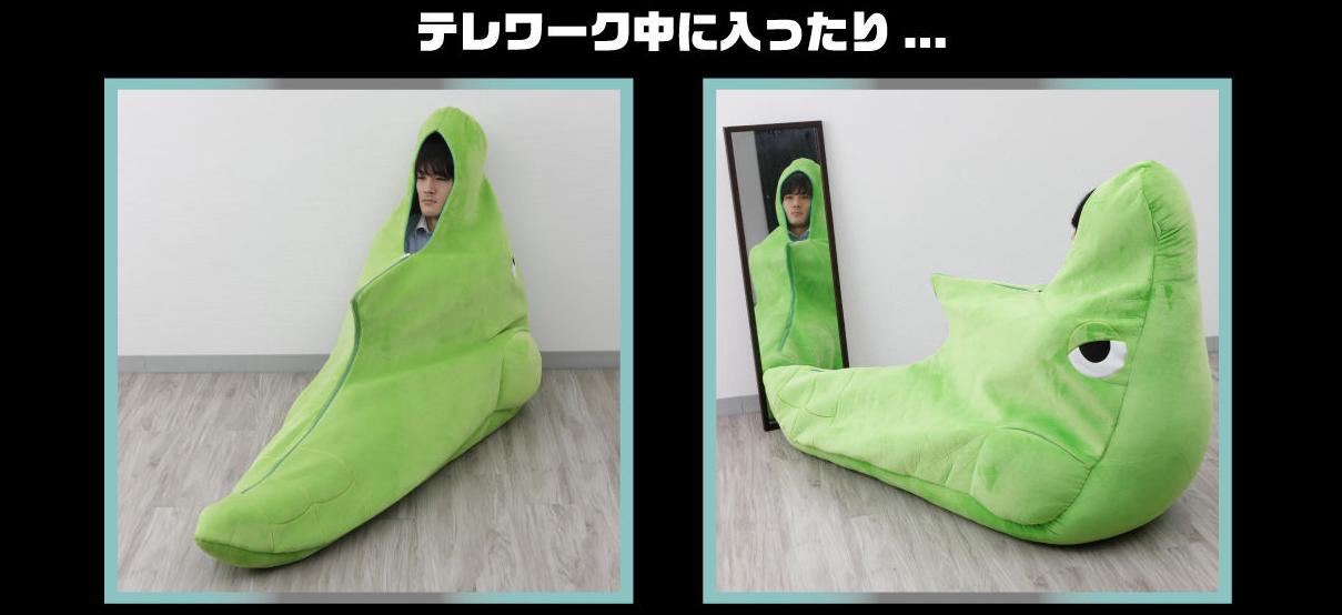 Bandai irá lançar saco de dormir do Metapod