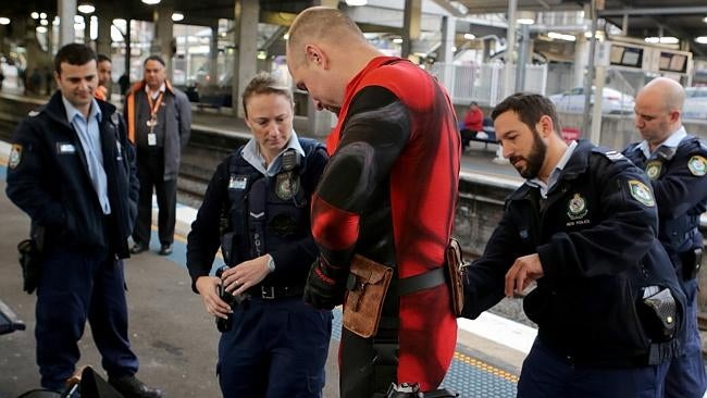 Cops Called On Cosplayer Riding Sydney Train With 'Guns, Swords & Grenades'