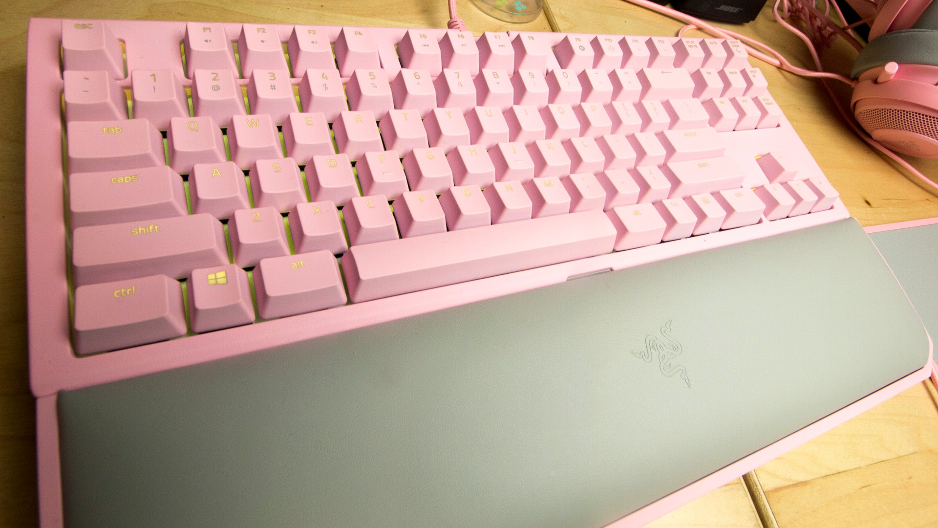 My Quest For All Pink Gaming Gear Is Almost At An End