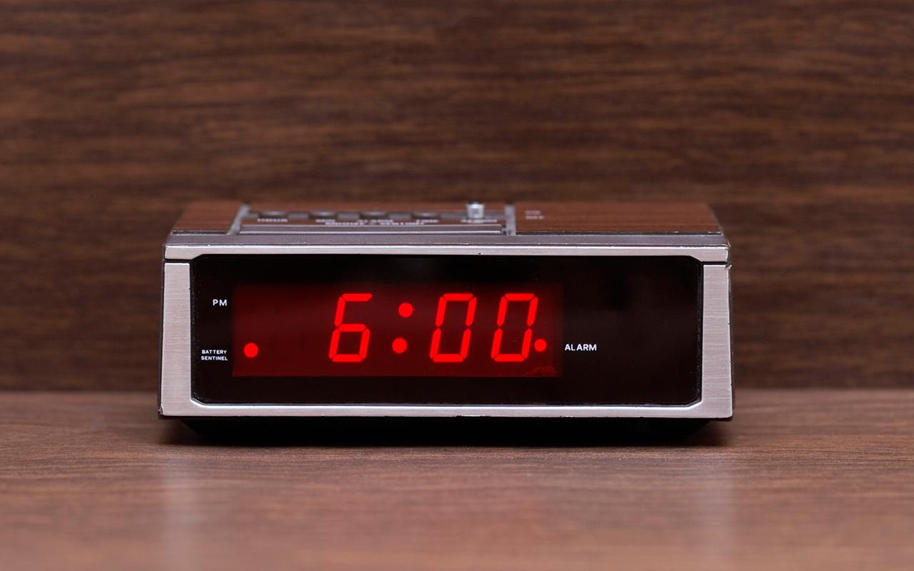 Alarm Clock For 6 Am | Unique Alarm Clock