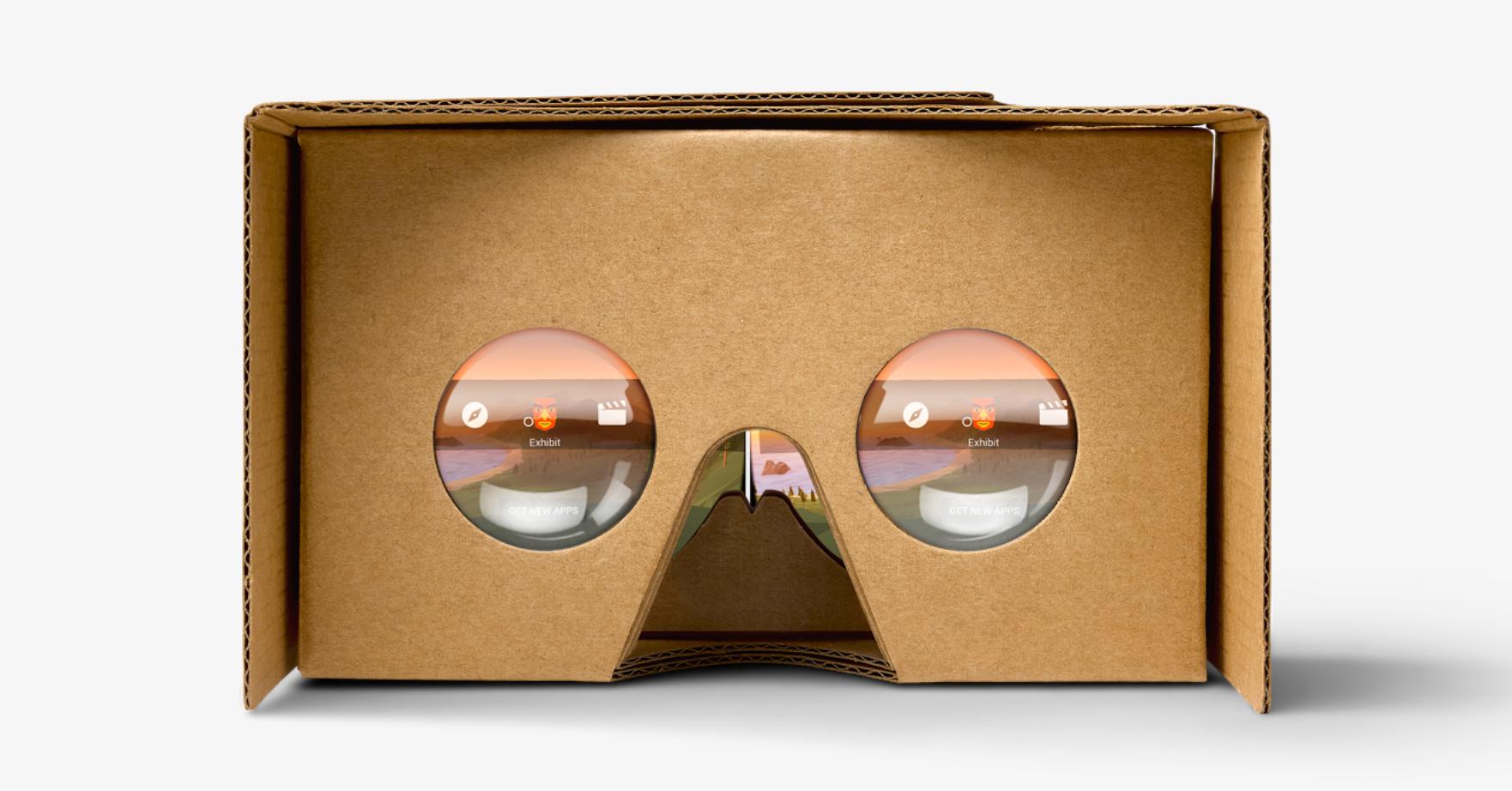 おもちゃDIY☆Google Cardboard VRスマホ3Dメガネ