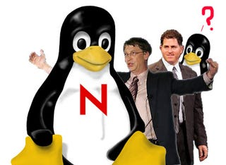 Illustration for article titled Dell and Microsoft Are Lovin' the Linux