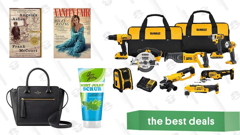 Illustration for article titled Sunday's Best Deals: Lucky Brand, DEWALT Tools, Sunglasses, and More