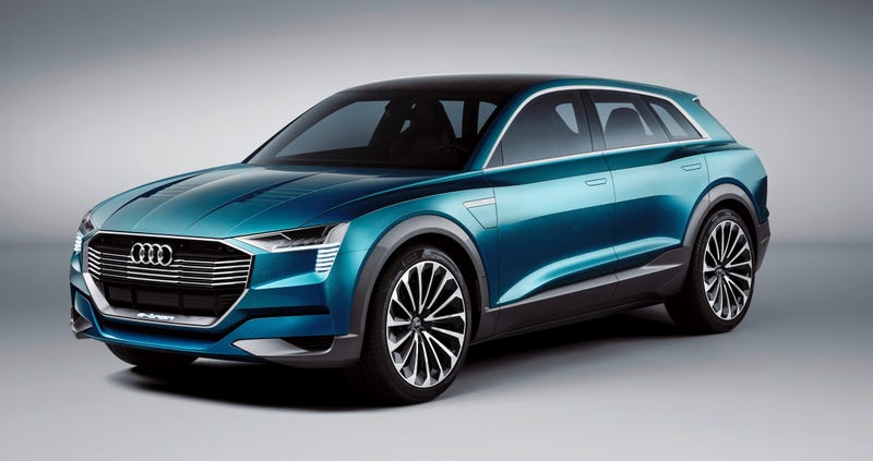 Illustration for article titled The First All-Electric Audi SUV Will Just Be Called 'E-Tron'