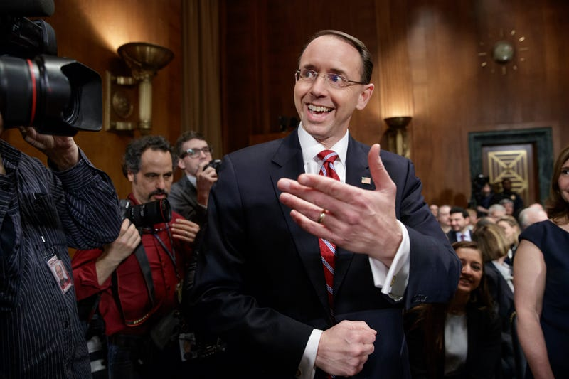 """Illustration for article titled Rod Rosenstein, Fall Guy and/or Man Who Doesn't Understand the Word """"Recommendation,"""" Invited to Brief Senate"""