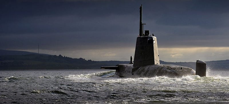 Illustration for article titled British Submariner Goes AWOL After Leaking UK Military Nuclear Secrets