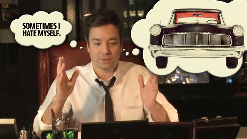 Illustration for article titled Let's Hijack Lincoln's Terrible Jimmy Fallon Ad And Actually Talk About Cars