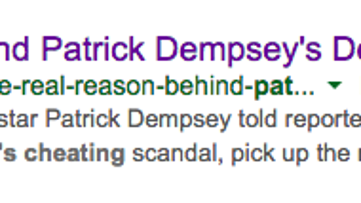 InTouch Deletes Article About Patrick Dempsey\'s Alleged Intern Affair