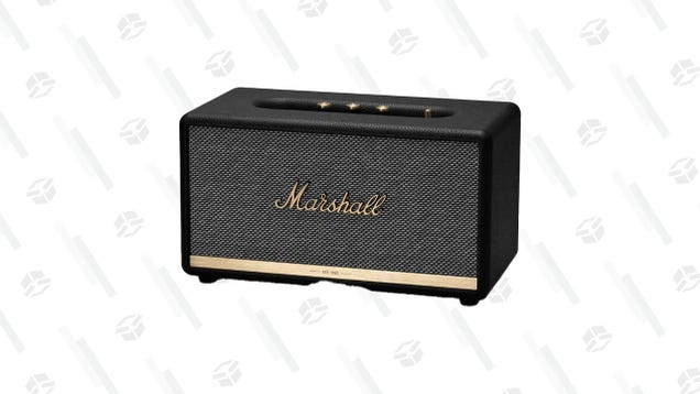 This Marshall Speaker Can Help You Quell Your Concert Nostalgia, and It's $70 off Right Now on Amazon