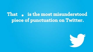Illustration for article titled This Formatting Rule Determines Whether Your Followers See Your Tweets
