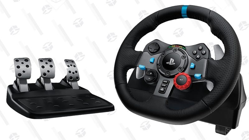 Logitech G29 Racing Wheel For PlayStation/PC | $200 | AmazonLogitech G920 Racing Wheel For Xbox One/PC | $200 | Amazon