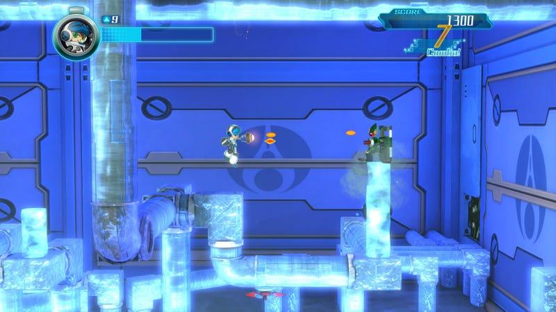 Illustration for article titled Mega Man's Spiritual Successor Arrives September 15