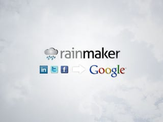 Illustration for article titled Rainmaker Automatically Updates Your Google Contacts with Data from Social Networks