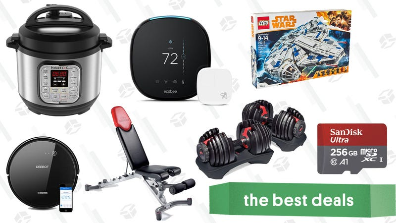 Illustration for article titled Monday's Best Deals: Instant Pot Mini, SanDisk, Bowflex, and More